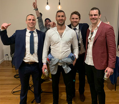 House Party for NRL legends